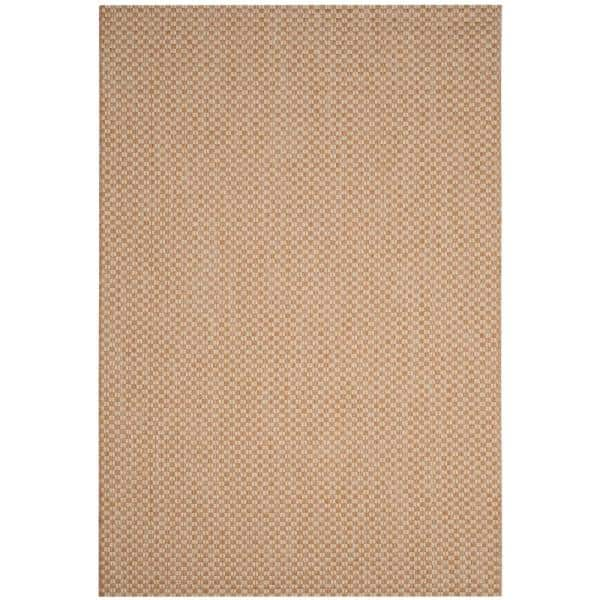 Safavieh Courtyard Natural Cream 7 Ft X 10 Ft Indoor Outdoor Area Rug Cy8653 03021 6 The Home Depot