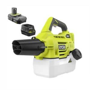 ONE+ 18V Lithium-Ion Cordless Battery Fogger/Mister - 2.0 Ah Battery and Charger Included