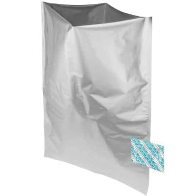 20 x 30 in. 5 gal. Mylar Foil Insulated Bags and 2000cc Oxygen Absorbers (50-Pack)