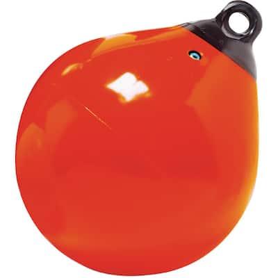 12 in. Tuff End Buoy, Orange