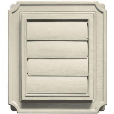 Scalloped Exhaust Siding Vent #089-Champagne