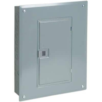QO 100 Amp 20-Space 24-Circuit Indoor Main Breaker Plug-On Neutral Load Center with Cover