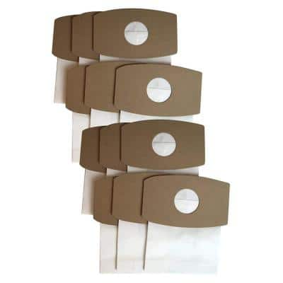 12-Pack Crucial Swirl Vacuum Bags, Fits Simplicity Type S SS-6 and Riccar SupraQuik RSQ-6