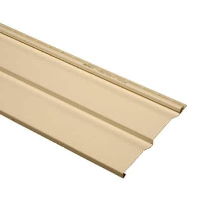 Take Home Sample Dimensions Double 10 in. x 24 in. Dutch Lap Vinyl Siding in French Silk
