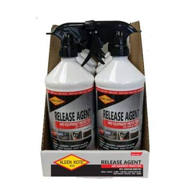 32 oz. Water Based Industrial Concrete Release and Anti-Corrosion Coating Spray Bottle (6-Pack)