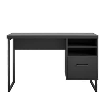 Woodbridge 45 in. Rectangle Black Computer Desk
