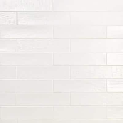 Palmer White 3 in. x 10 in. x 9mm Matte Ceramic Subway Wall Tile (30 pieces / 5.38 sq. ft. / box)