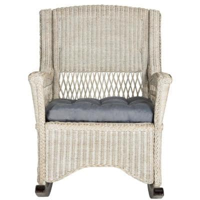 Aria Antique Gray Accent Chair