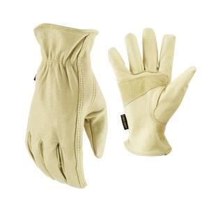 Grain Pigskin Large Gloves