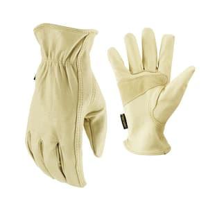 Large Grain Pigskin Leather Work Gloves