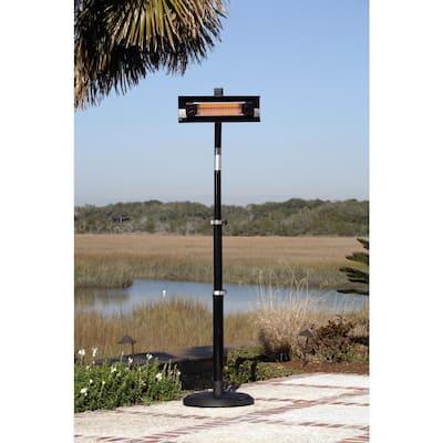 1,500-Watt Telescoping Offset Pole Mounted Infrared Electric Patio Heater