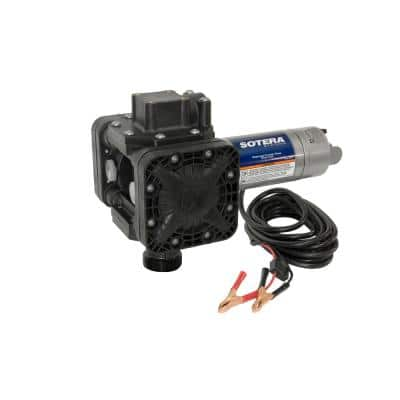 12-Volt 15 GPM 1/4 HP Agricultural Chemical Pump (Pump Only)