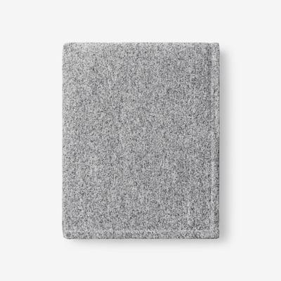Sweatshirt Knit Koala Gray Reversible Throw Blanket