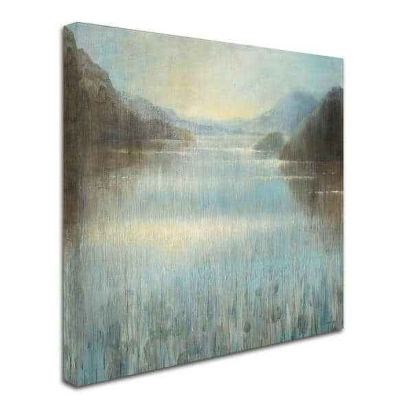 Trademark Fine Art 35 In X 35 In Through The Mist Square By Danhui Nai Printed Canvas Wall Art Wap0274 C3535gg The Home Depot