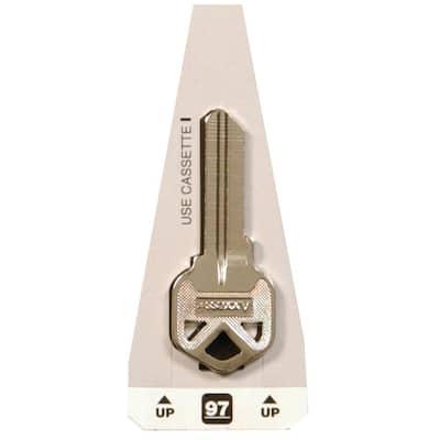 #97 Titan Lock Key Blank