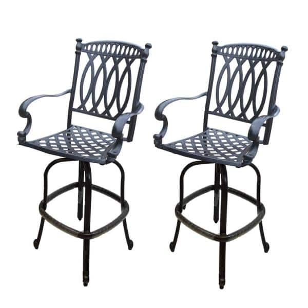 Oakland Living Pair Of Outdoor Cast, Rubber Feet For Outdoor Furniture Home Depot