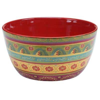 Tunisian Sunset Deep Serving Bowl