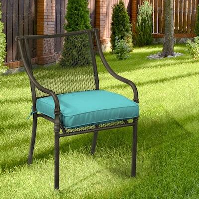 Oak Cliff 20 x 20 Sunbrella Canvas Aruba Outdoor Chair Cushion (2-Pack)