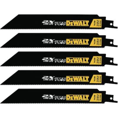 8 in. Premium Metal Cutting Blade (5 per Package)