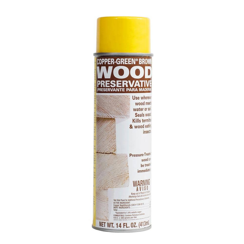 Copper-Green Brown Wood Preservative 14 fl. oz. Aerosol