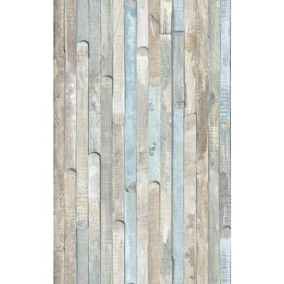 26 in. x 78 in. Rio Ocean Self-adhesive Vinyl Film for Furniture and Door Decoration
