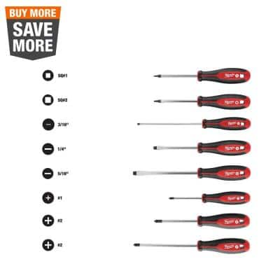 Screwdriver Set (8-Piece)
