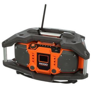 X4 18-Volt Cordless Jobsite Radio with ShockMount Technology