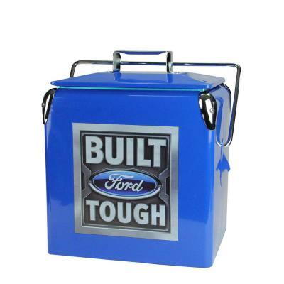 10 qt. Officially Licensed Ford and Built Ford Tough Coolers (Set of 2)