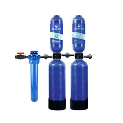 Rhino Series 6-Stage 1,000,000 Gal. Whole House Water Filtration System with Whole House Salt-Free Water Conditioner