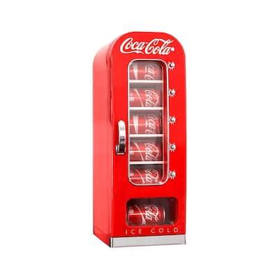 9.38 in. 10 (12 oz.) Coca Cola Retro Can Cooler