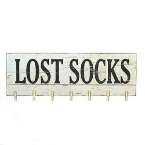 Lost Socks Clothes Pin Memo Board