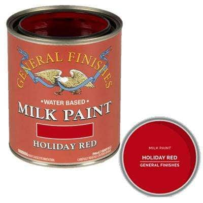 1-Qt. Holiday Red Interior/Exterior Milk Paint