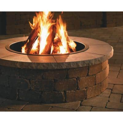 52 in. Grand Fire Pit Chiseled Cap
