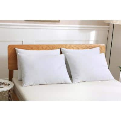 Duck Down Jumbo Pillow (Set of 4)