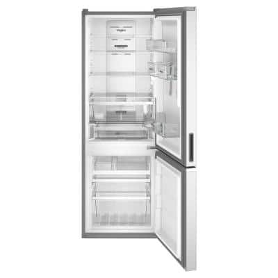 24 in. 12.7 cu. ft. Bottom Freezer Refrigerator in Fingerprint Resistant Stainless, Counter Depth