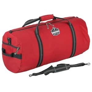 Arsenal 23 in. Red Nylon Gear Duffel Bag