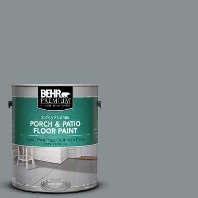1 gal. #PFC-47 Raw Steel Gloss Porch and Patio Floor Paint