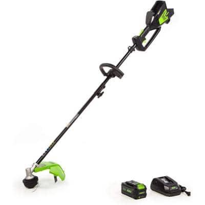 14 in. 40-Volt Battery Cordless Attachment Capable String Trimmer with 6.0 Ah Battery and Charger