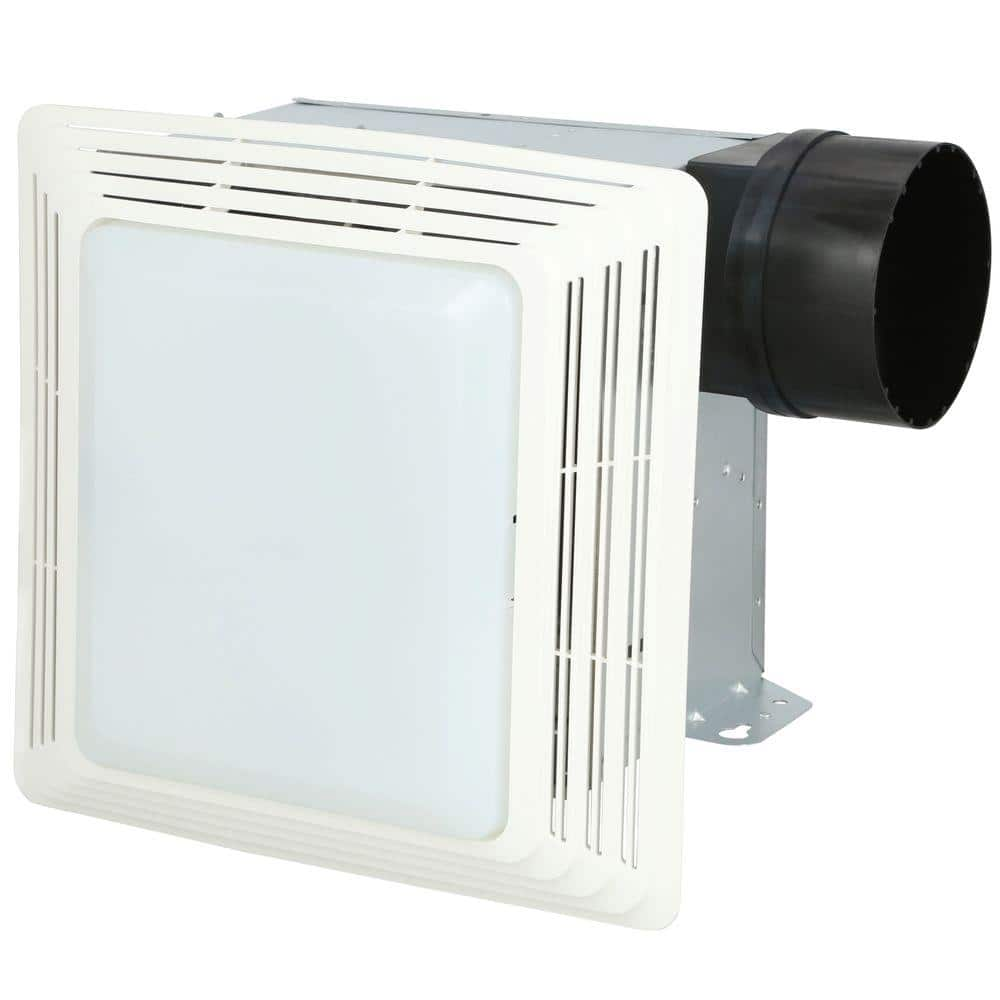 Broan Nutone 50 Cfm Ceiling Bathroom Exhaust Fan With Light 678 The Home Depot
