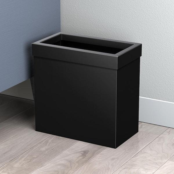 Gatco Modern Waste Can Rectangle In, Modern Bathroom Wastebasket