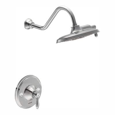 Weymouth Single-Handle Posi-Temp Eco-Performance Shower Trim Kit in Chrome (Valve Not Included)