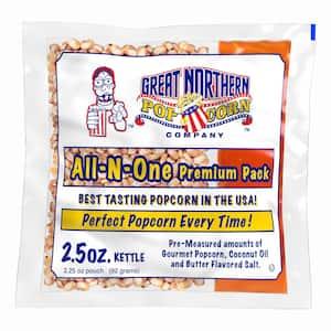 2.5 oz. Premium Quality Popcorn Portion Packs (80-Packs)