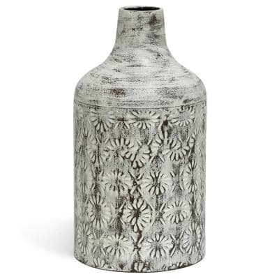 White Washed Winnifield for Table Vase 14 in.