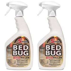 32 oz. 5-Minute Bed Bug Killer (2-Pack)
