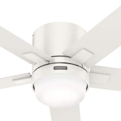 Milmack 52 in. Indoor Fresh White Ceiling Fan with Light and Remote Control