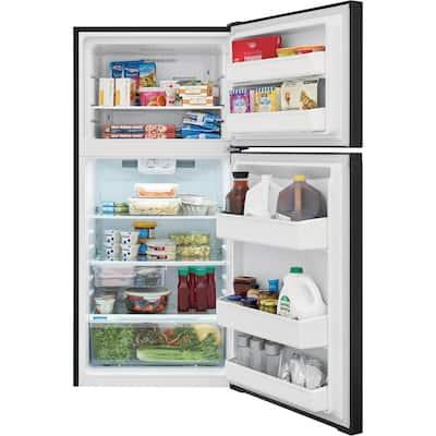 13.9 cu. ft. Top Freezer Refrigerator in Black, ENERGY STAR