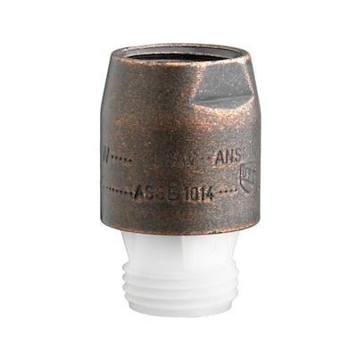0.5 in. Metal In-Line Vacuum Breaker, Oil Rubbed Bronze