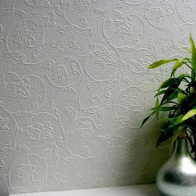 Heaton Paintable Textured Vinyl Strippable Wallpaper (Covers 57.5 sq. ft.)
