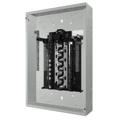 SN Series 100 Amp 20-Space 40-Circuit Main Breaker Plug-On Neutral Load Center Indoor