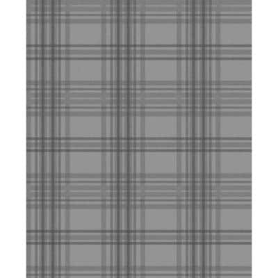 Highland Country Tartan Vinyl Strippable Roll (Covers 56 sq. ft.)